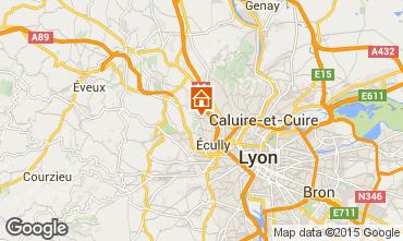 Mapa Lyon Casa rural 100775