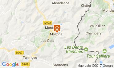 Mapa Morzine Chalet 112046