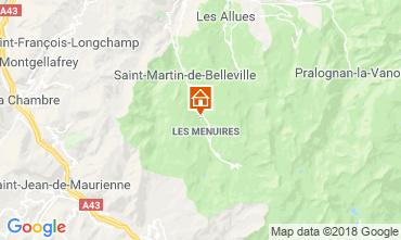 Mapa Les Menuires Chalet 100576