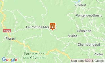 Mapa Mont Lozère Casa 117356