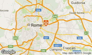 Mapa Roma Apartamento 74636