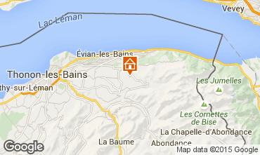 Mapa Evian les Bains Villa 97881