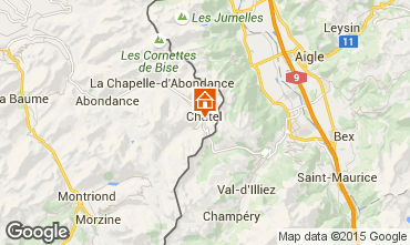 Mapa Ch�tel Apartamento 805