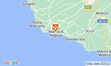 Mapa Marina di Ragusa Apartamento 92332