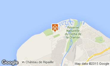 Mapa Thonon Les Bains Mobil home 99129