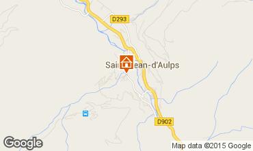 Mapa Saint Jean d'Aulps- La Grande Terche Estudio 2513