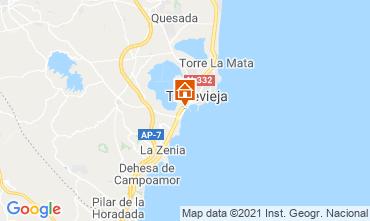 Mapa Torrevieja Estudio 78589