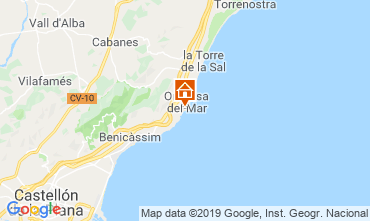 Mapa Oropesa del Mar Apartamento 118249