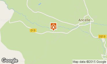 Mapa Ancelle Chalet 526