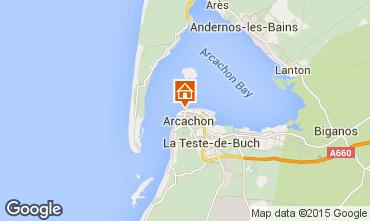 Mapa Arcachon Apartamento 75728
