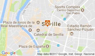 Mapa Sevilla Apartamento 107396