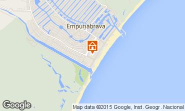 Mapa Ampuriabrava Apartamento 82800