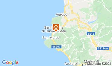 Mapa Santa Maria di Castellabate Apartamento 48956