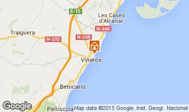 Mapa Vinaroz Villa 29753