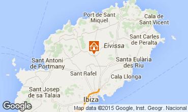 Mapa Santa Eulalia del R�o Villa 94873