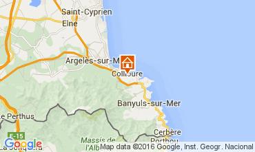 Mapa Collioure Apartamento 102973