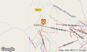 Mapa Valloire Apartamento 73430