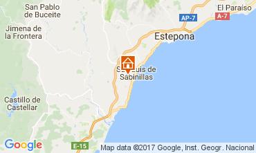 Mapa Marbella Apartamento 112130