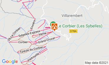 Mapa Le Corbier Estudio 992