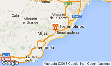 Mapa  Benalm�dena Estudio 58200