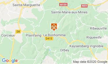 Mapa Station du Lac Blanc Chalet 4523