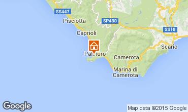 Mapa Palinuro Apartamento 76514
