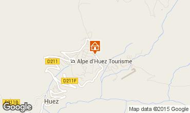 Mapa Alpe d'Huez Apartamento 89990
