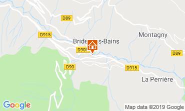 Mapa Brides Les Bains Apartamento 4914