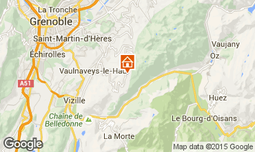 Mapa Chamrousse Estudio 773