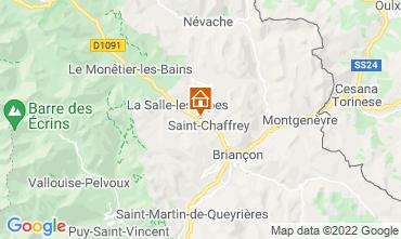 Mapa Serre Chevalier Chalet 2931