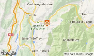 Mapa Alpe du Grand Serre Apartamento 58096