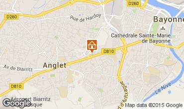 Mapa Anglet Apartamento 86328