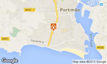 Mapa Praia da Rocha Apartamento 76352