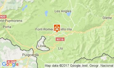 Mapa Font Romeu Apartamento 15696