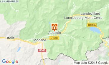 Mapa Aussois Casa rural 116674