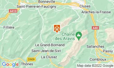 Mapa Le Grand Bornand Apartamento 76154