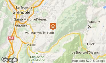 Mapa Chamrousse Apartamento 754