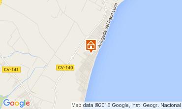 Mapa Peñíscola Apartamento 105376
