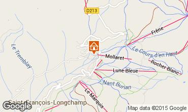 Mapa Saint François Longchamp Estudio 73490