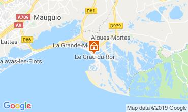 Mapa Le Grau du Roi Apartamento 117986