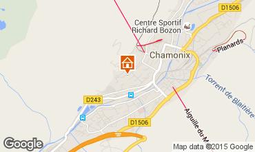 Mapa Chamonix Mont-Blanc Apartamento 663