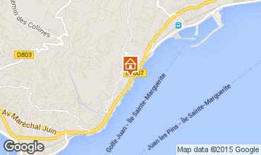 Mapa Cannes Apartamento 24962