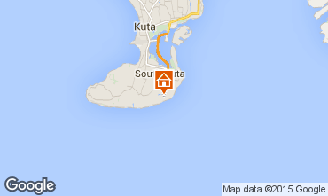 Mapa Nusa Dua Villa 98326