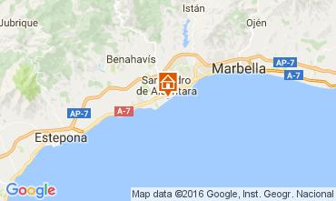 Mapa Marbella Villa 11384