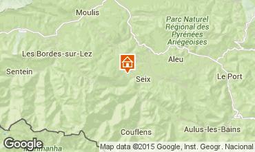 Mapa Seix Casa rural 98554