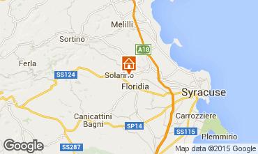 Mapa Siracusa Villa 74929