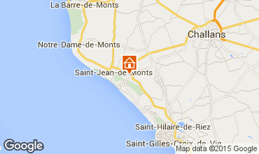 Mapa Saint Jean de Monts Mobil home 95954