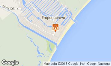 Mapa Ampuriabrava Apartamento 53422