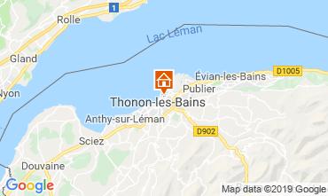 Mapa Thonon Les Bains Apartamento 115294