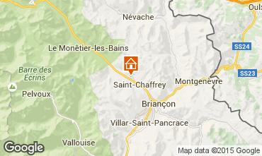 Mapa Serre Chevalier Chalet 47619